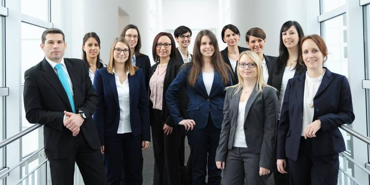 Gruppenbild Recruiting Team